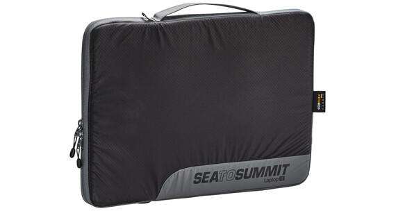 "Sea to Summit Travelling Light Laptop Sleeve 13"" black/grey"